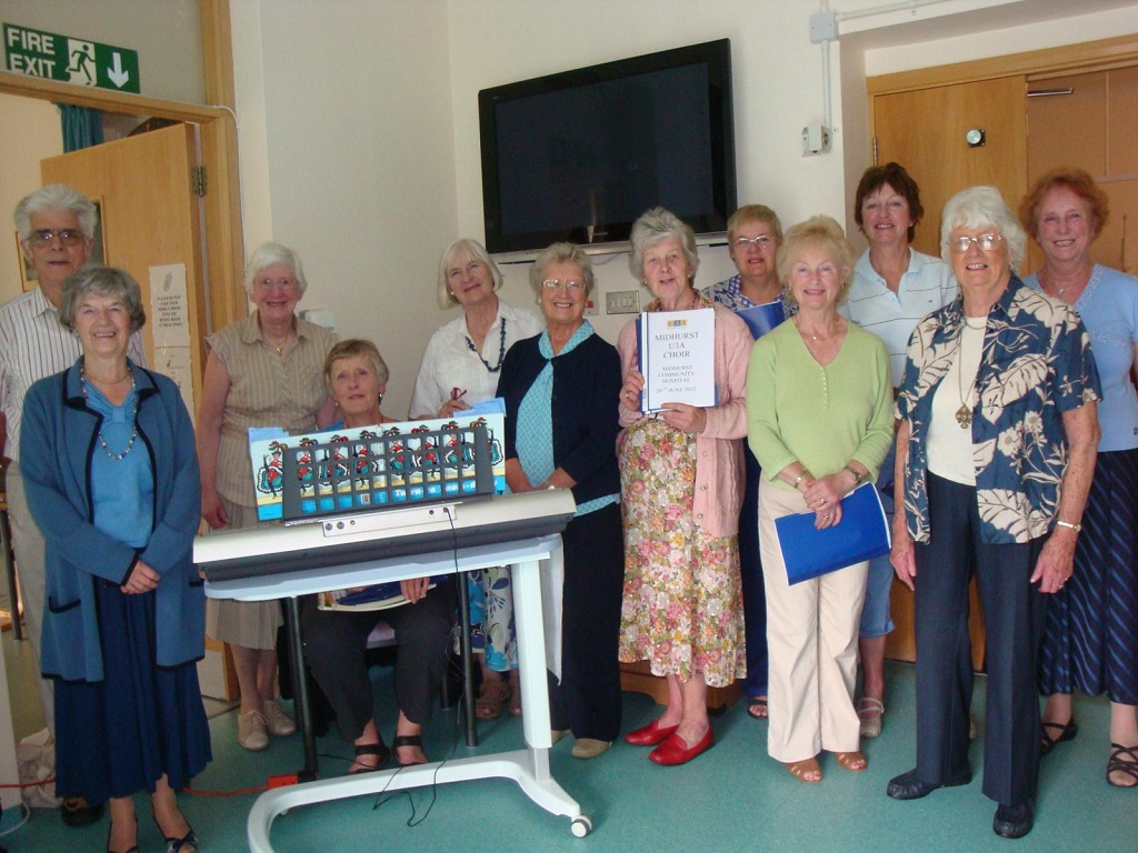 Our group at Midhurst Community Hospital