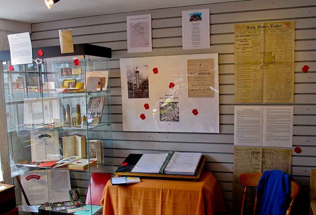 Midhurst WW1 Display
