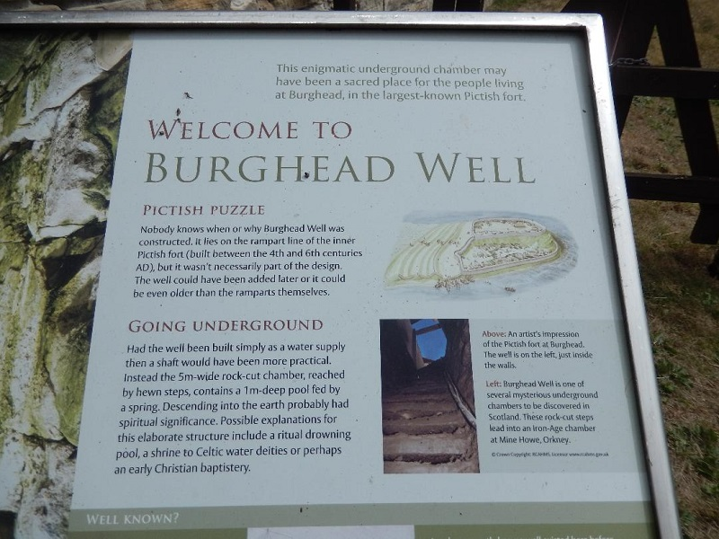 Burghead Well - Information