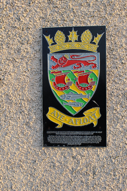 Portknockie Coat of Arms