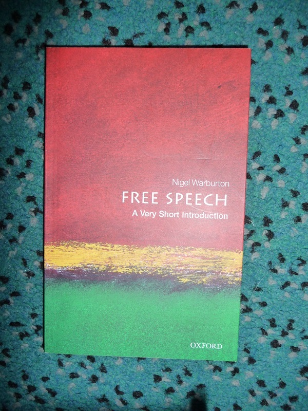 Free Speech - Suggested reading