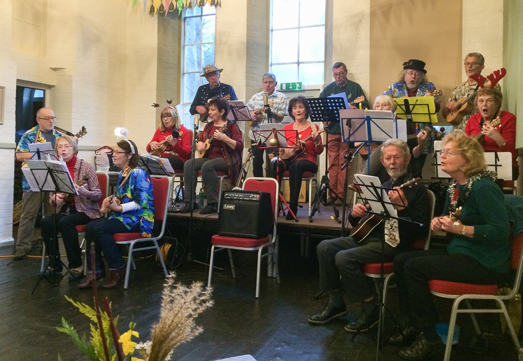 Playing for the U3A Dec 2018