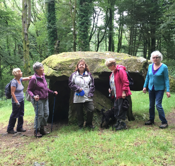 Narberth U3a walkers - July 2019