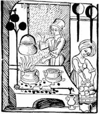 Medieval Beer Wives at Work