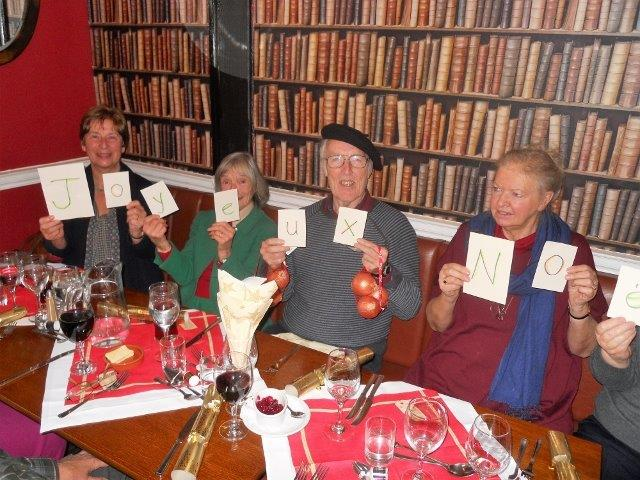 French Group Xmas Lunch 2