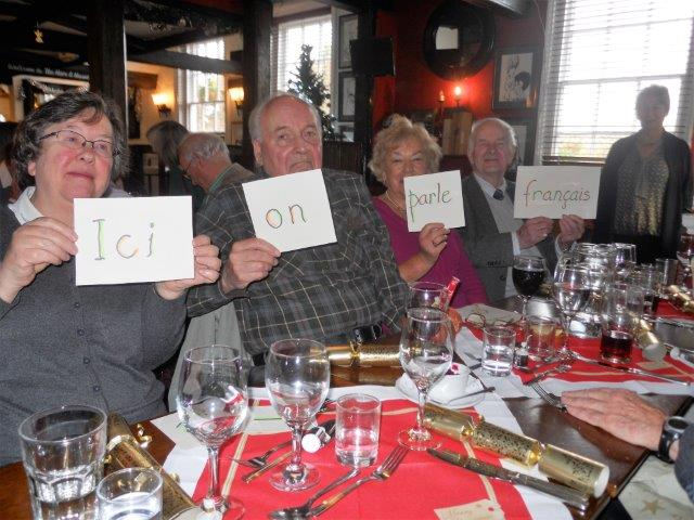 French Group Xmas Lunch 3
