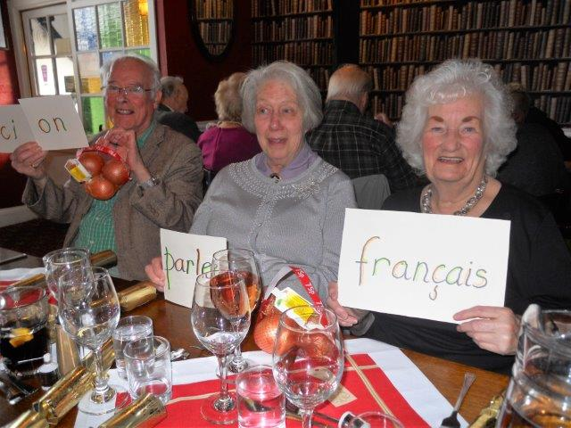 French Group Xmas Lunch 4