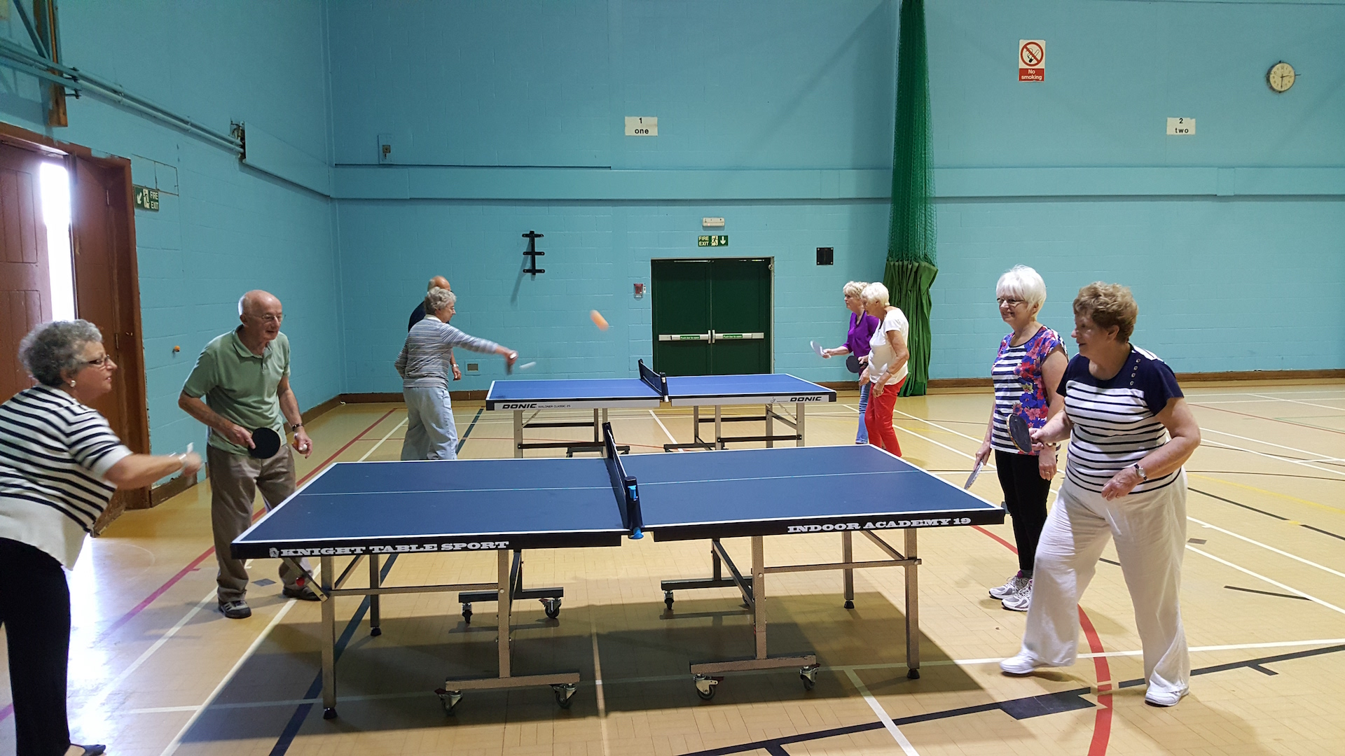 Our Table Tennis Group Sept 2016