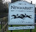 Newmarket Welcome Sign
