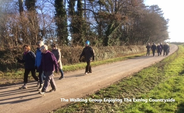 Walking at Exning Dec 2019