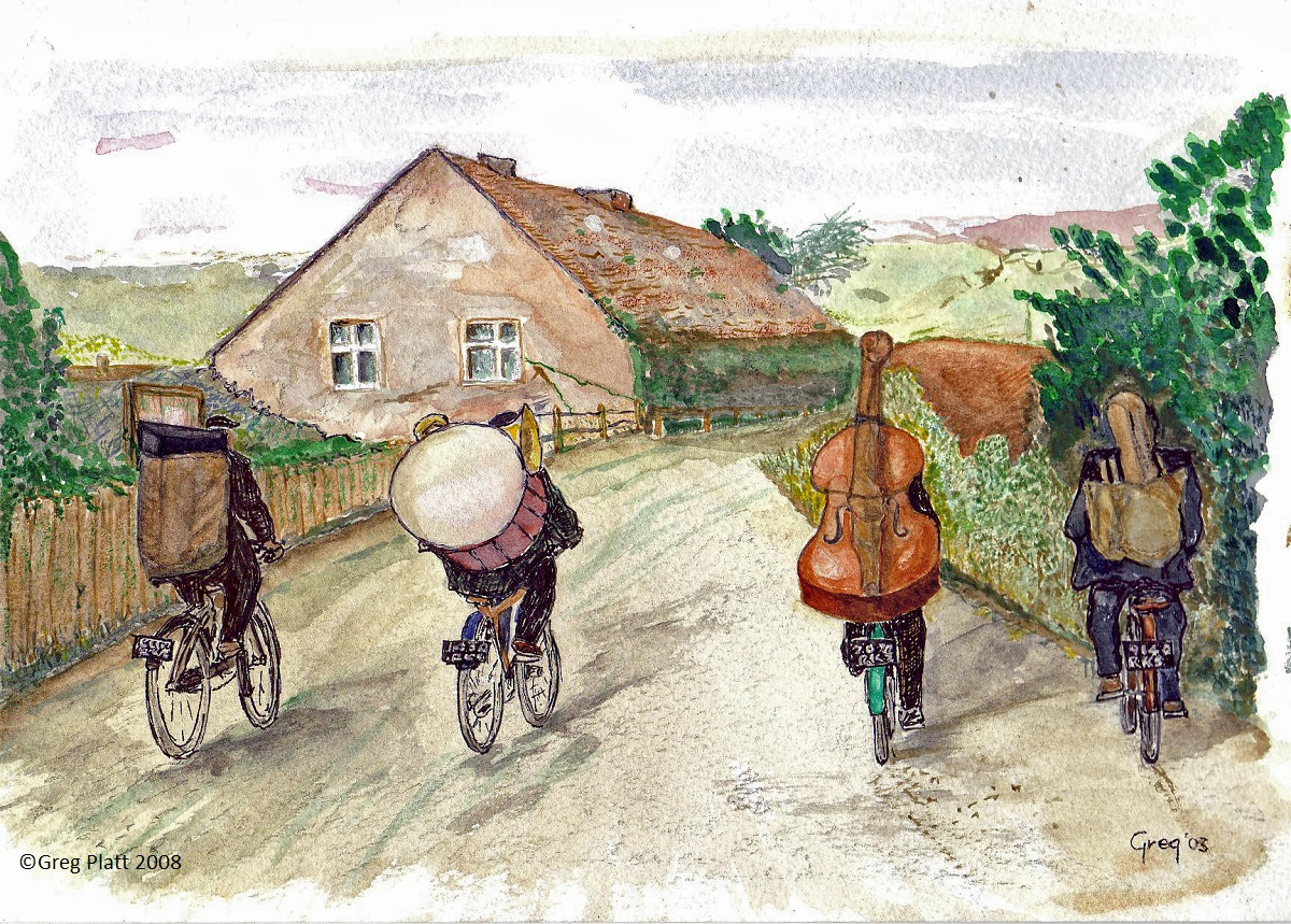 Band on Bikes - Greg Platt
