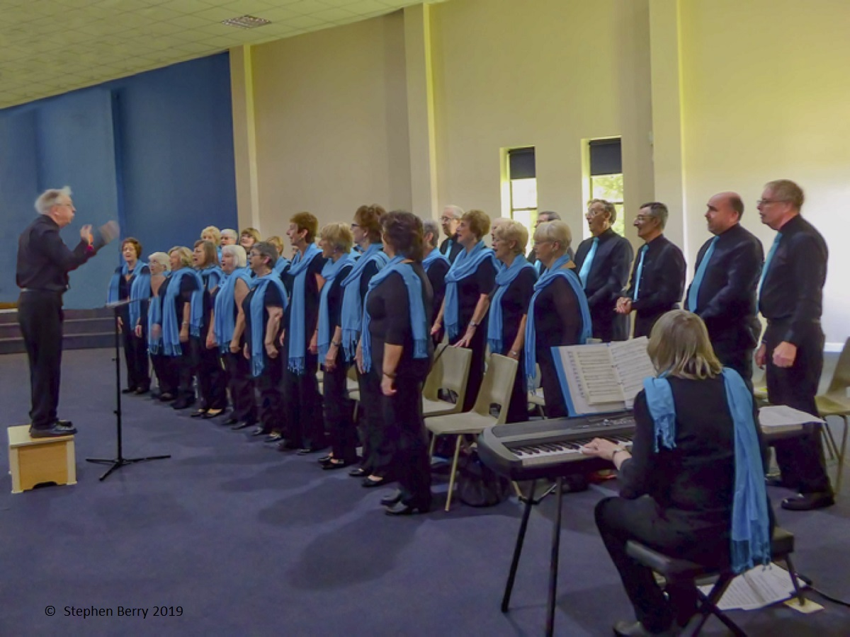 Performing at the Christchurch Centre