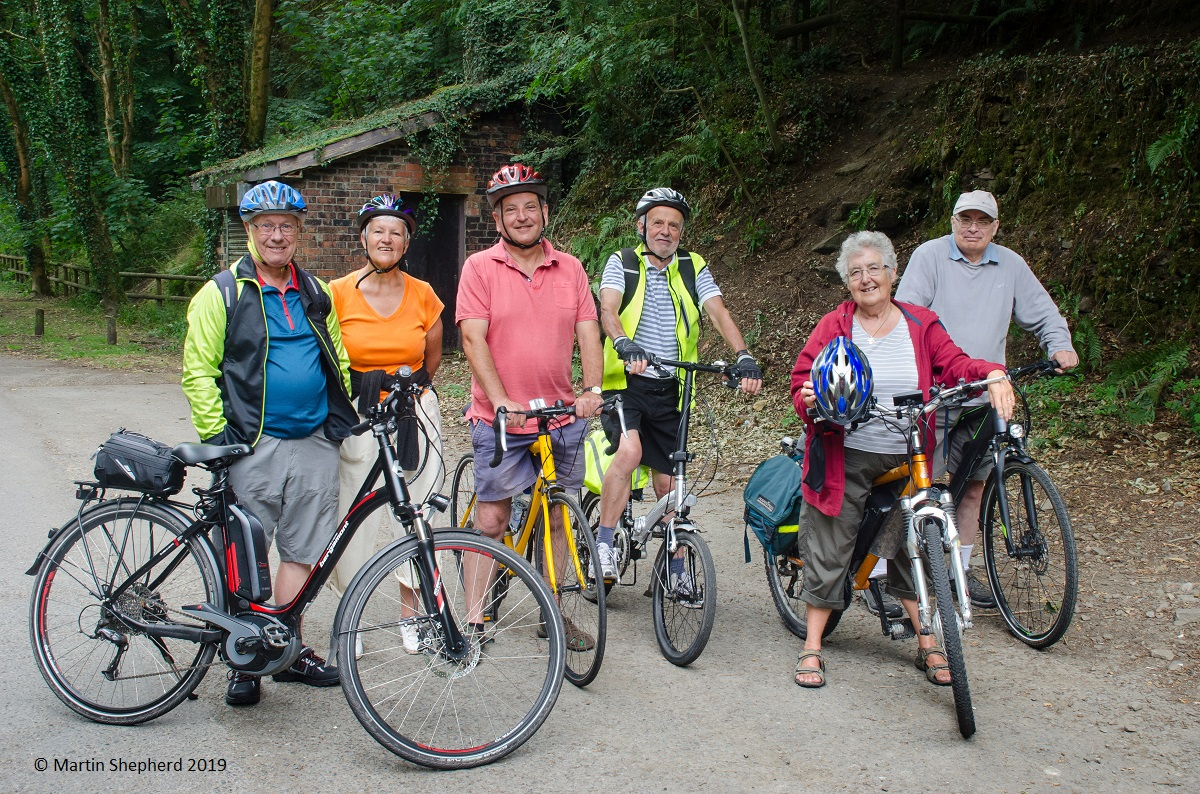 Cycling the Sirhowy Way