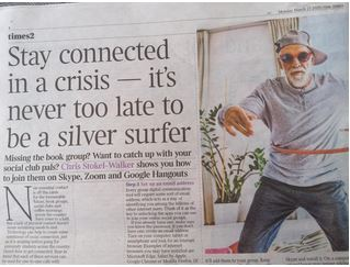 Times article - staying connected