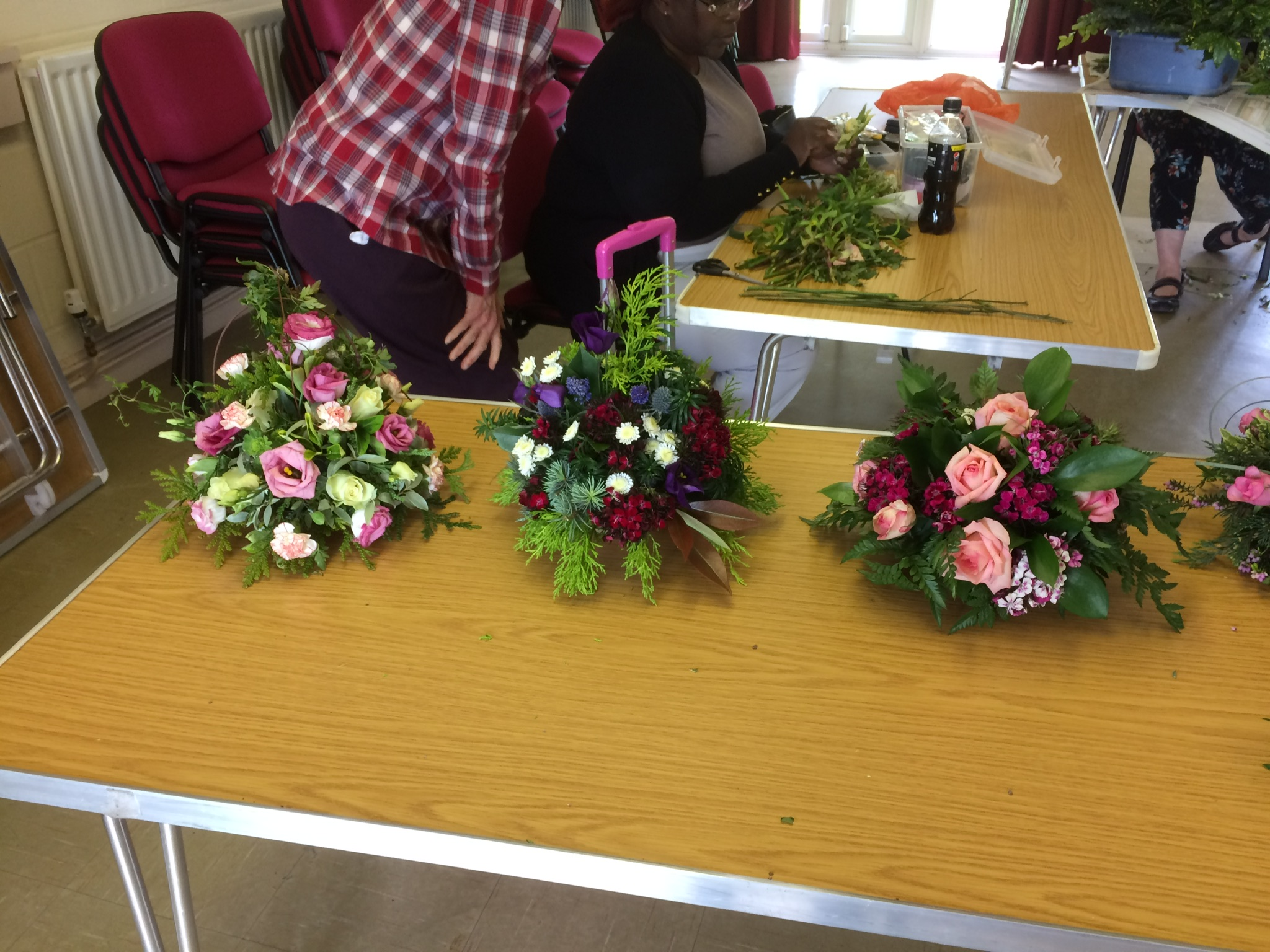 Flower arranging 2, May19