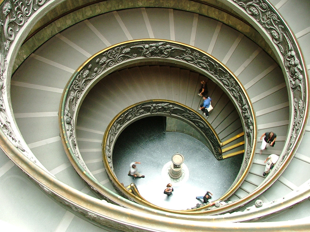 Staircase - by Alan Ward