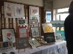 Art exhibition at Coffee Morning