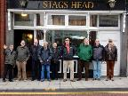 Outside Stags Head, South Shields