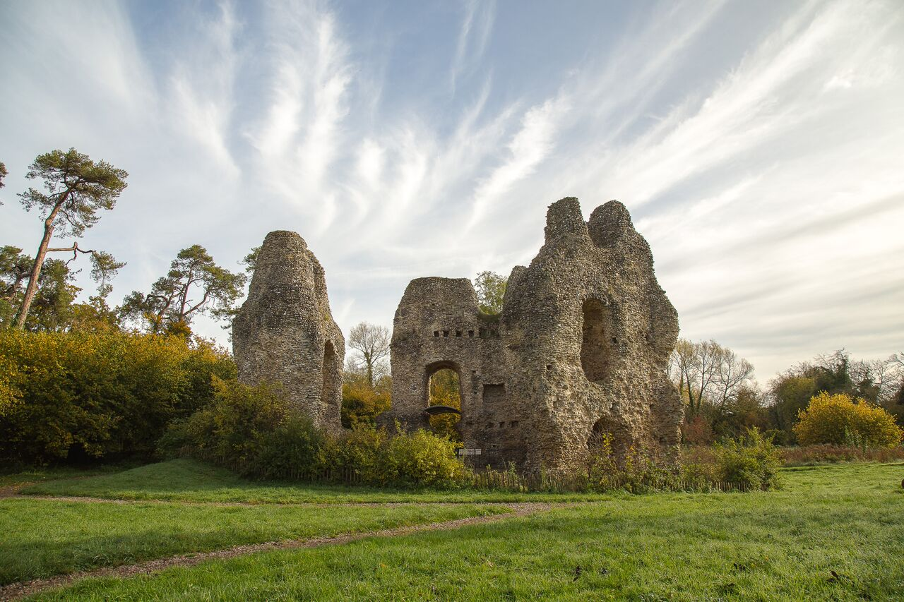 King Johns Castle near Odiham