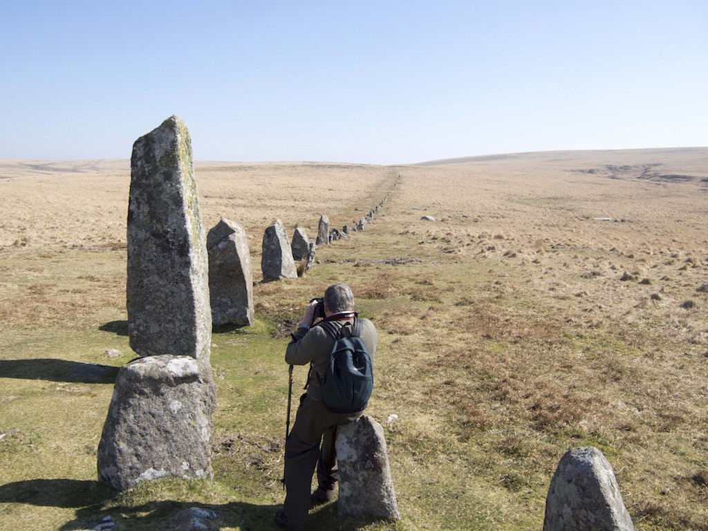 Stone Row Dartmoor