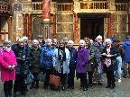 Group visit to The Globe
