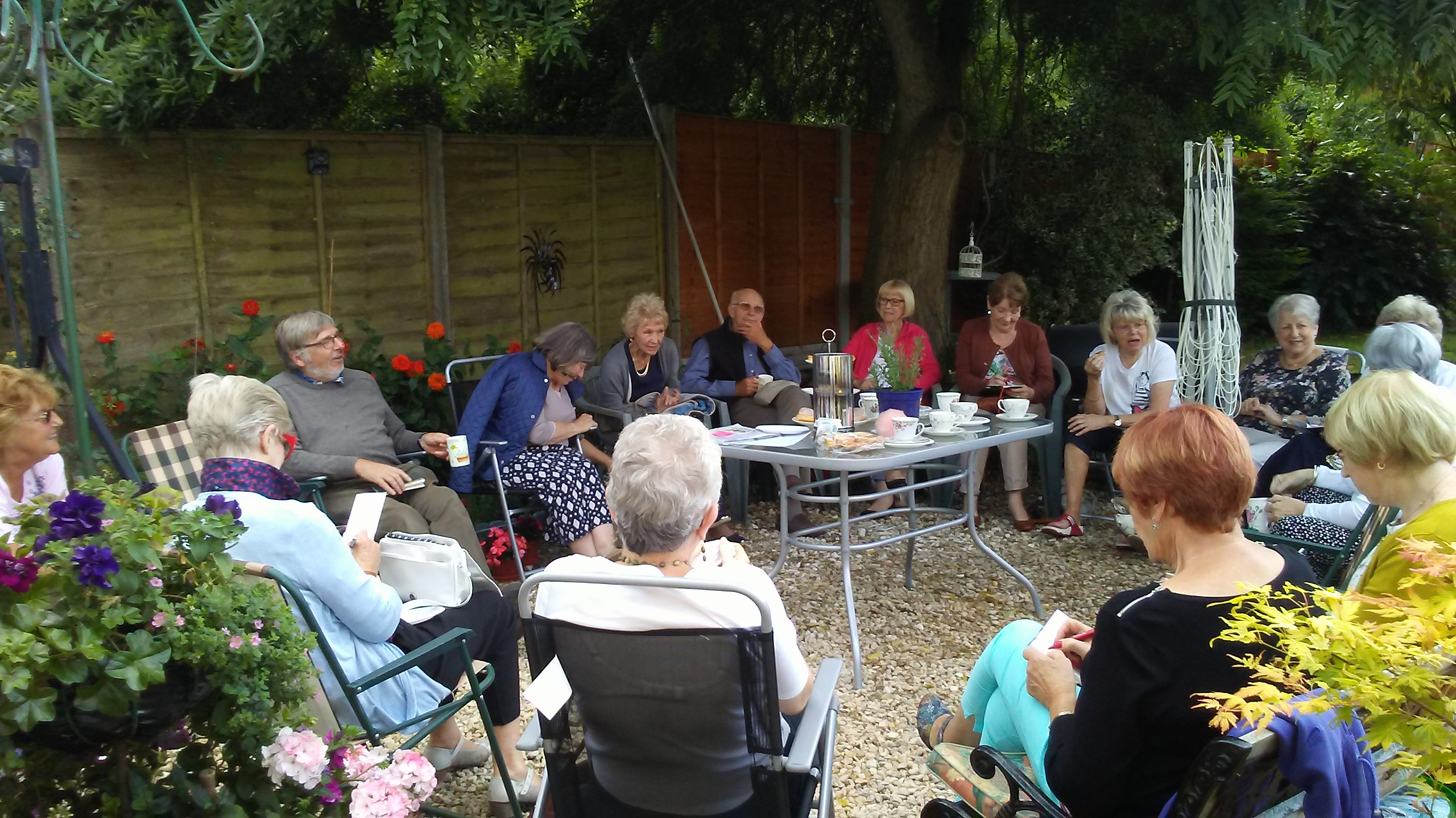 Gardening Group - Tea in the Garden