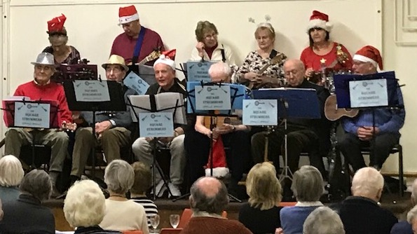 Dickens of a Christmas- Square Strummers