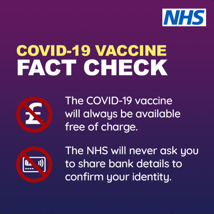 NHS Vaccine Scams