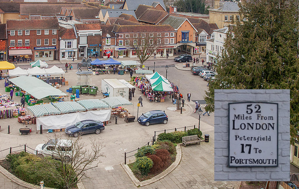 Petersfield Market Day