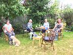 Social distancing in Petersfield