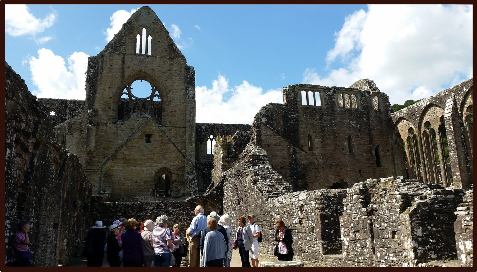 Tour of Tintern Abbey - July 2019