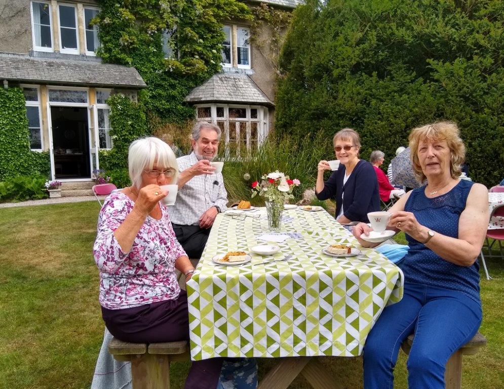 Tea at the Vicarage
