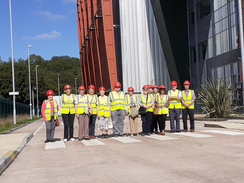 Visiting the Incinerator on 16.09.19
