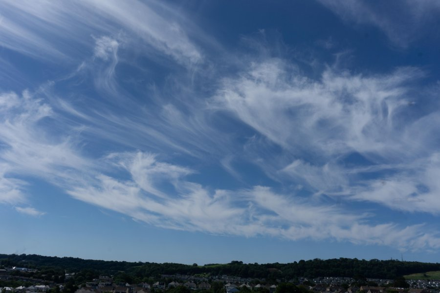 Mares Tail clouds on 27.06.20