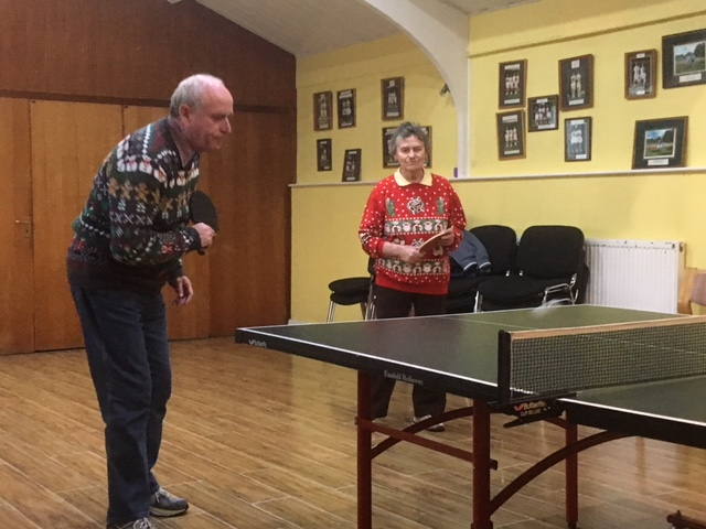 Standard Dress for Xmas Table Tennis