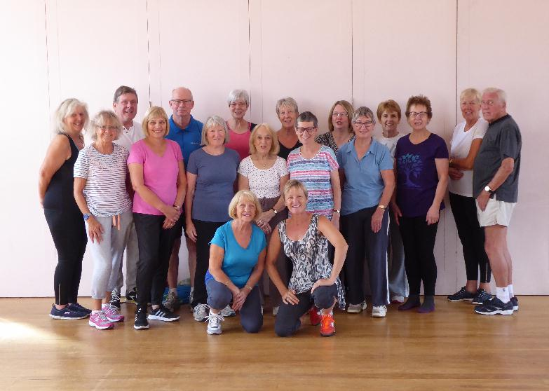 Keep fit at URC August 2018