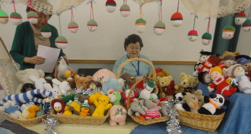 NSPCC Sale of Knitted Toys