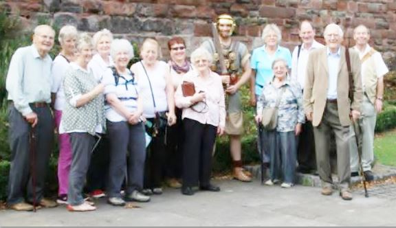 The Latin group visit Chester