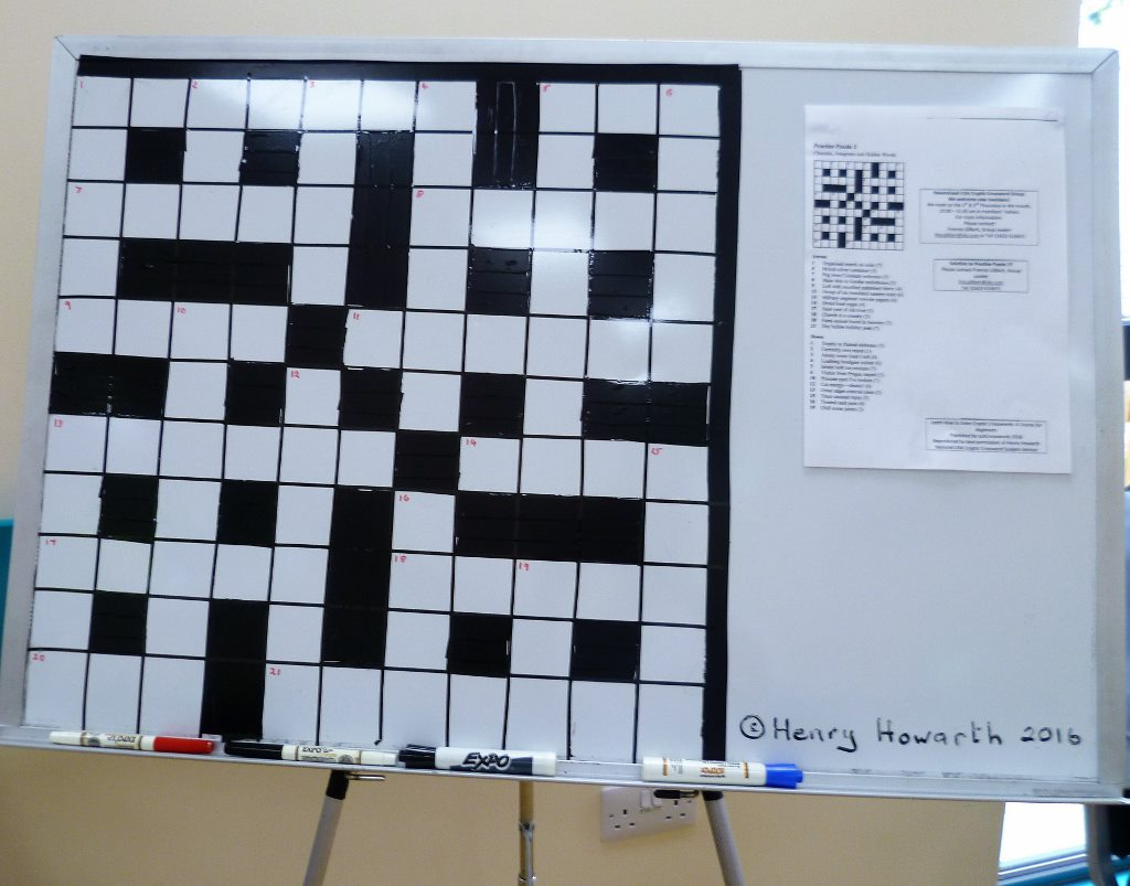 An invitation to solve a Crossword