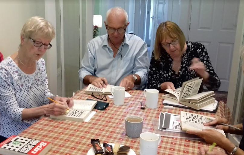 Some Cryptic Crossword membrs in action