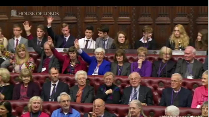 House of Lords The Care Debate