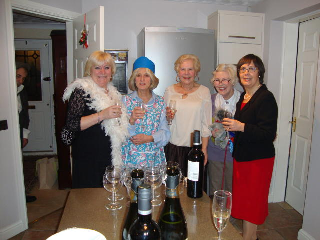 Group One Wine Group Ladies Get Festive