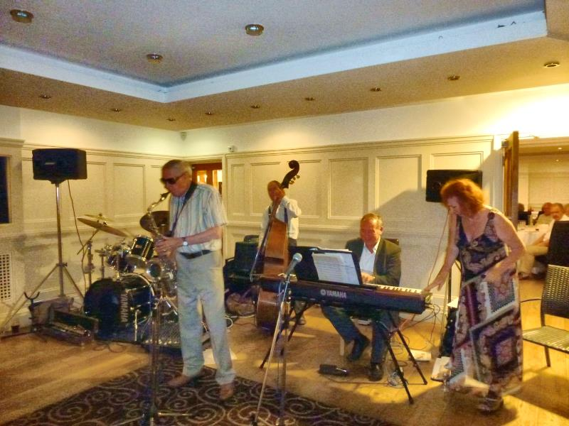 Kenny Baxter (on Saxophone) and Band