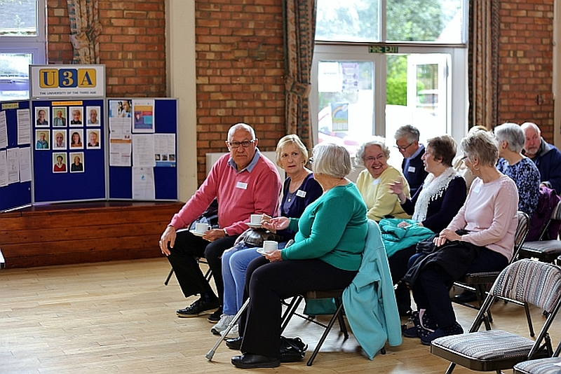 New Members at our Coffee Morning