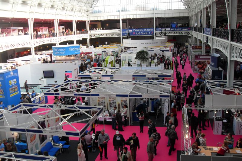 The Exhibition Hall at Olympia