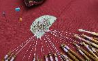 The Bobbin Lace Group table