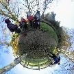 The walk today is round planet Stratford
