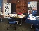 Redditch u3a stand at the Town Hall