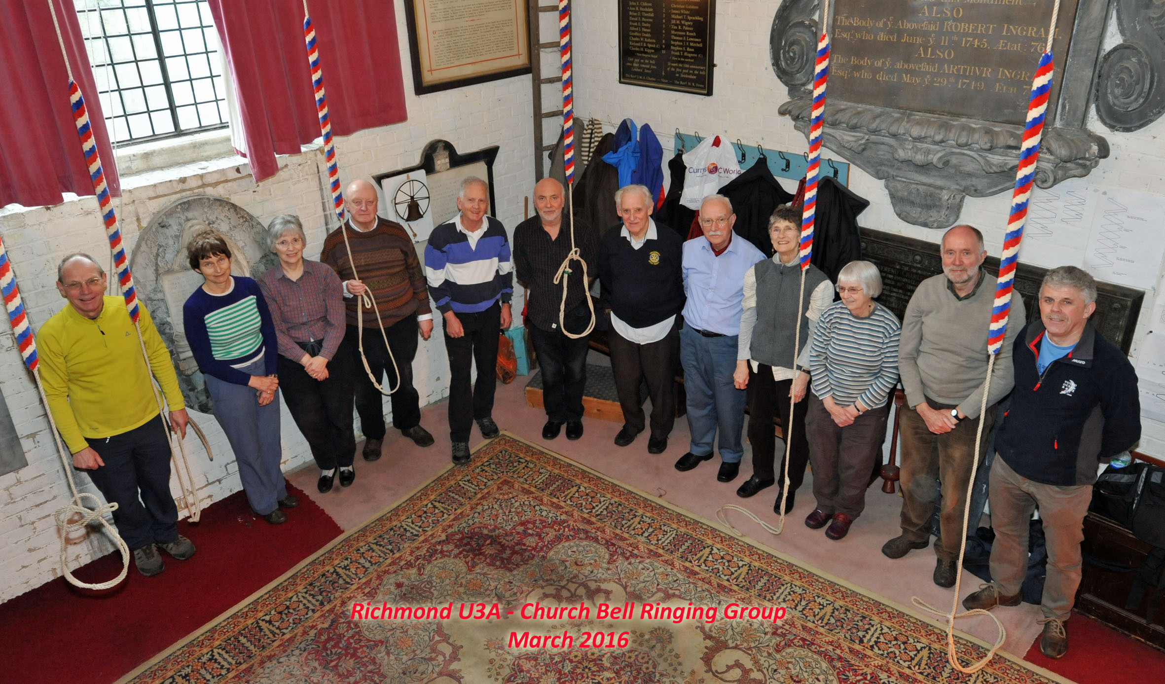 Church Bell Ringing Group - March 2016