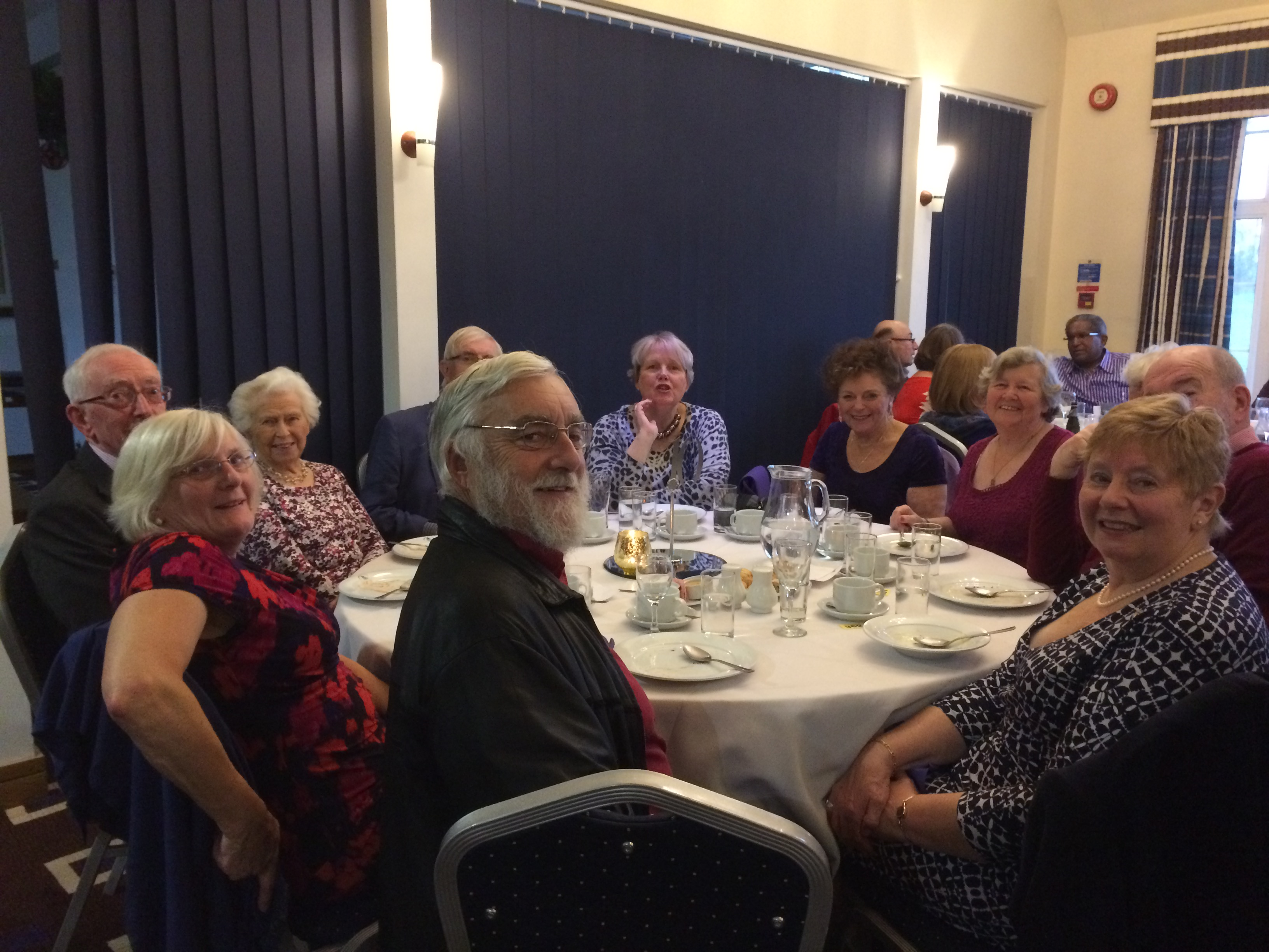 2016 Christmas Lunch at Sandy Lodge